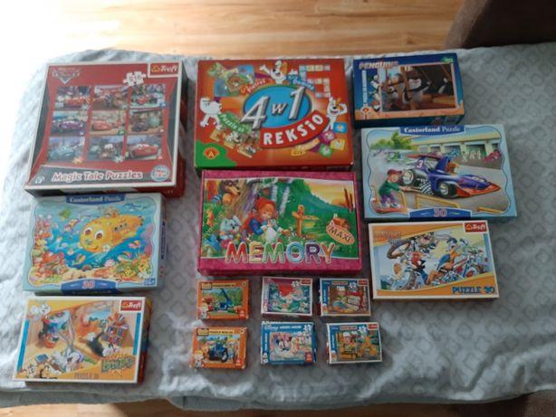 Sprzedam puzzle i gry.