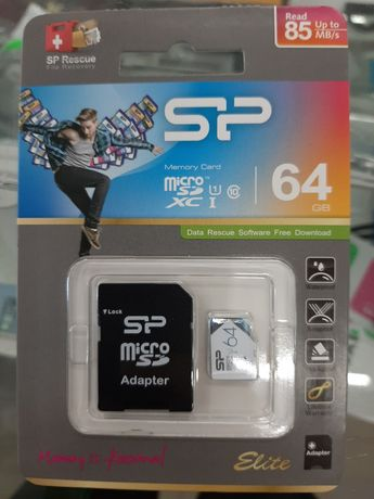 Micro SD 64 GB. Флешка для телефона.