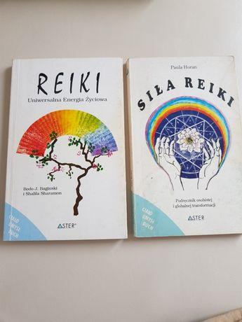 Dwie książki o Reiki