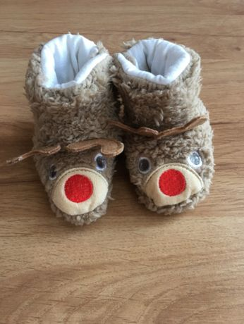 Butki buty ciapcie świąteczne , Smyk r 68 / 74
