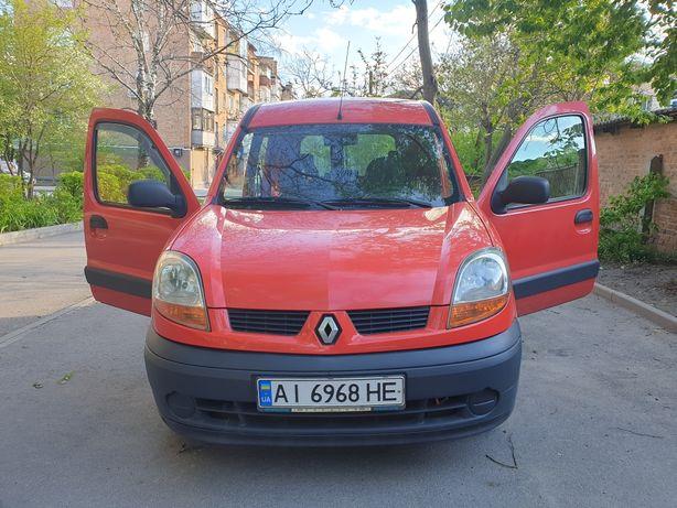 Рено Кенго 2005, грузо-пассажир. Renault Kangoo