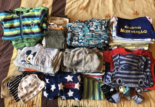 Wysyłka gratis! Paka zestaw ubrań dla chłopca rozmiar 68 wiosna/lato