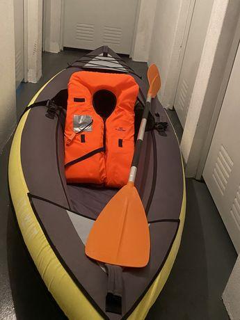 Kayak insuflável ITIWIT de passeio de 1 lugar  - como NOVO