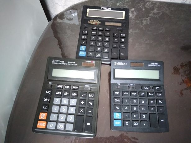 Калькулятори звичайні