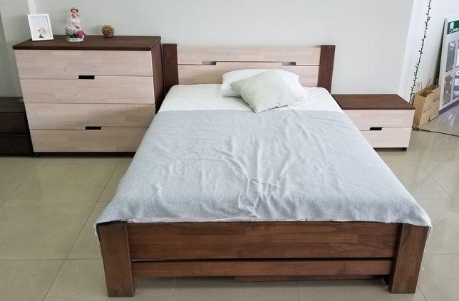 Кровать буковая ліжко дерев'яне бук масив массив дерево