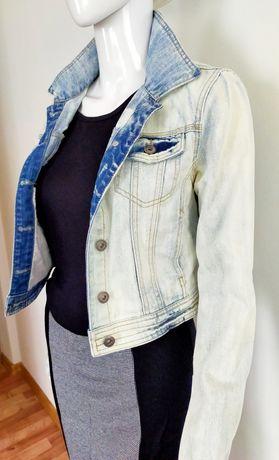 Kurtka jeansowa Vila S