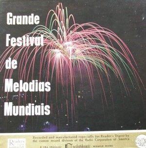 Melodias Mundiais - Caixa com 13 LPs raros para venda