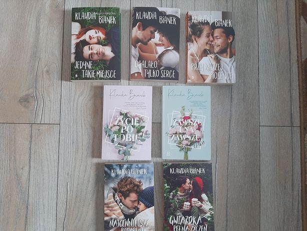 Klaudia Bianek cala kolekcja  7 książek:)