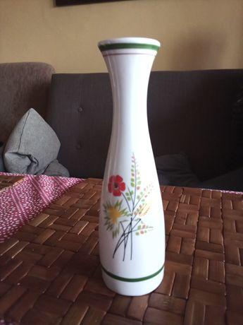 Prl wazon porcelana Ćmielów wys 20, 5cm, wlew 4,5cm