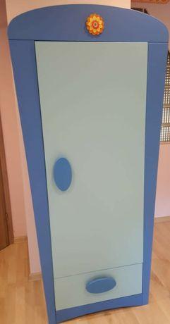 Szafa Ikea Mammut niebieska