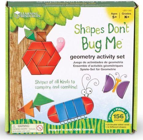 Геометрический набор Фигуры умеют жужжать Learning Resources