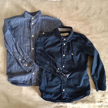 Комплект две рубашки H&M хлопок 122 р.