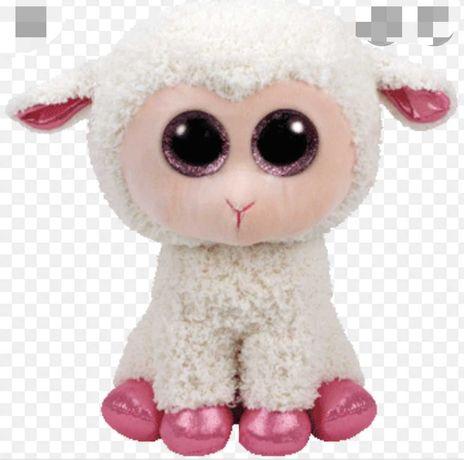 глазастик ty овечка Twinkle 25см большой