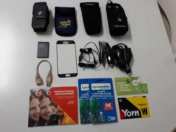 Material para telemóveis