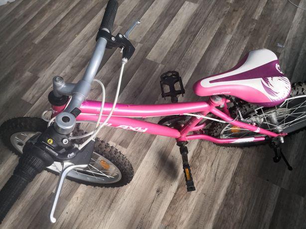 rower Galaxy z przerzutkami Shimano