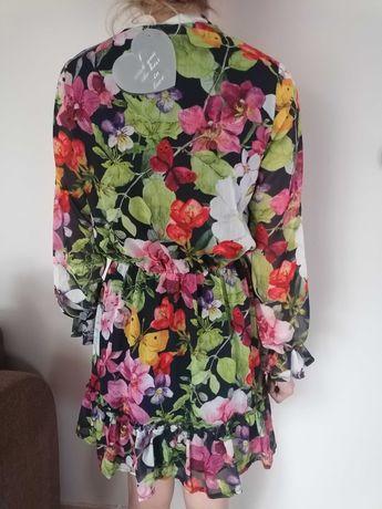 Sukienka w kwiatki nowa