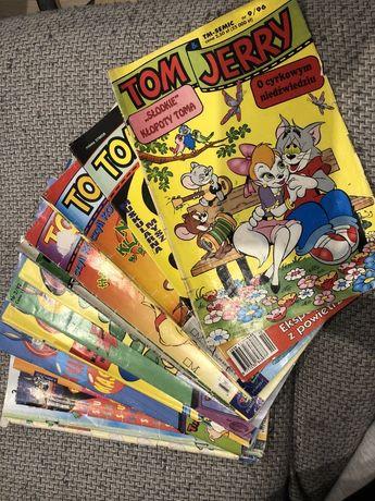Sprzedam komiksy Tom & Jerry