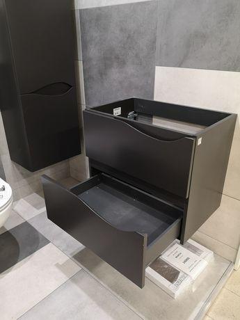 Zestaw mebli łazienkowych  DEFRA Szafka + Słupek * CICHY DOMYK
