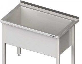 Stalgast Stół z basenem jednokomorowym 1100x600x850 mm