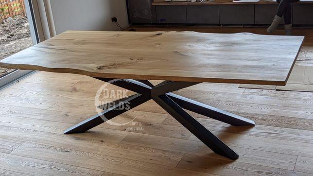 Noga metalowa Loft industrial Spider Pająk stelaż
