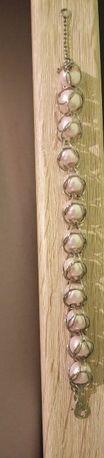 bransoletka różowe perły Dzień Matki
