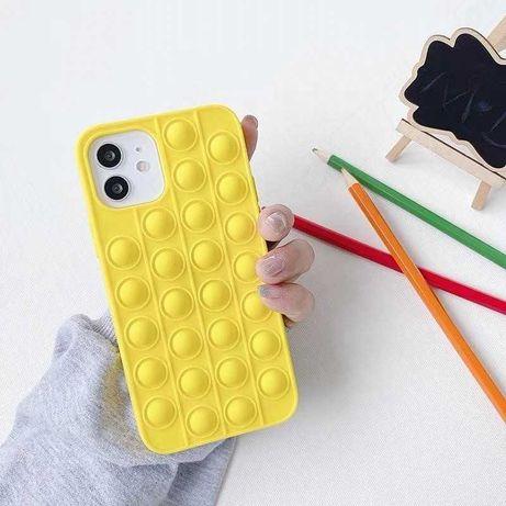 Чехол на IPhone разноцветный в стиле pop it чехол поп-ит игрушка