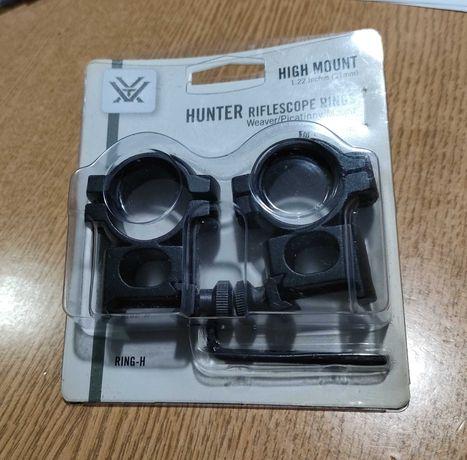 Montaż do luneta Vortex Hunter na tubus 1cal, szyna 22mm, wysokość31mm