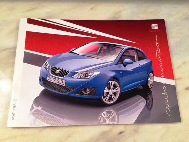 Catalogos de Viaturas Automóveis Citroen C3 Honda Civic Seat Ibiza
