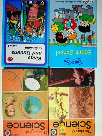 Книги серії Ladybird на англійській мові