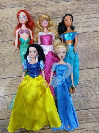 Zestaw lalek, zestaw księżniczek,Ariel,Aurora, Śnieżka,Jasmina