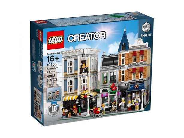 Lego 10255 Plac Zgromadzeń NOWY plomby