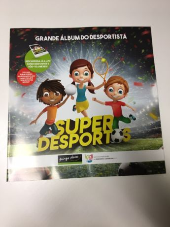 Livro: Grande Álbum do Desportista Super Desportos