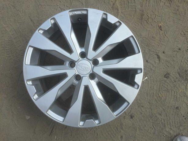 Литые диски Субару  R17 5/100 56.1 ET48 Subaru