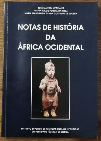 notas de história da áfrica ocidental, maria arlete ferreira da cruz