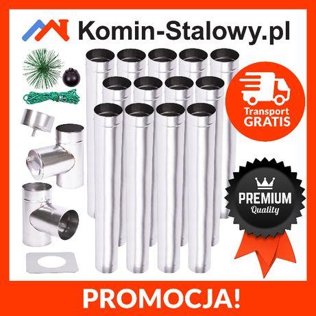 Wkład Kominowy Okrągły do Komina Fi130/13m/0,6mm - Kwaso-żaroodporny