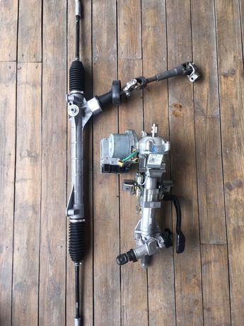 Рулевая рейка, компрессок, зеркало,мотор,vw polo 1.6 QAA