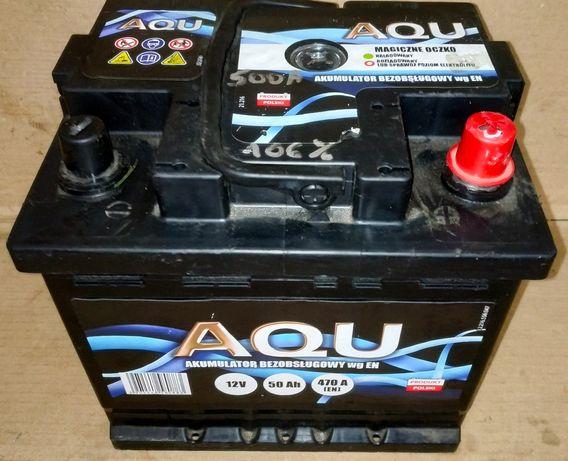 Akumulator Aqu 50Ah 470A z Niemiec