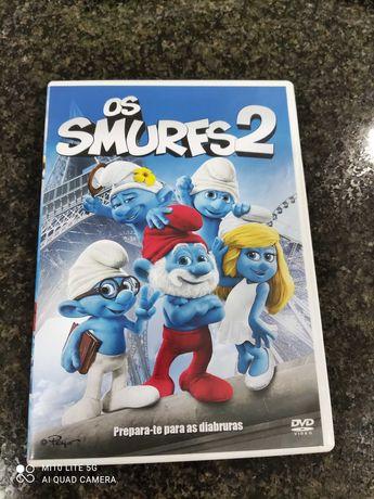 DVD - Os Smurfs (2)