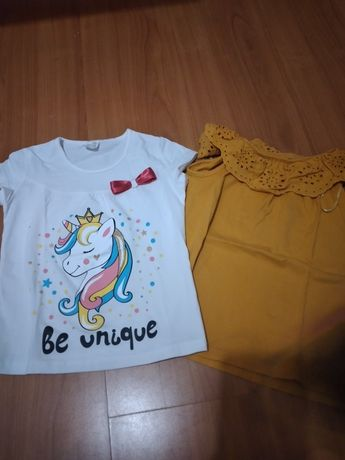 T-shirts menina 5-6A