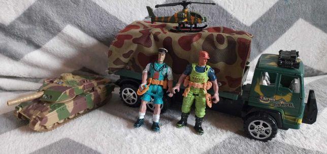 Военный набор для мальчика машина солдатики