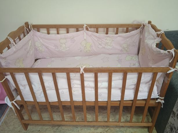 Детская кроватка + кокон
