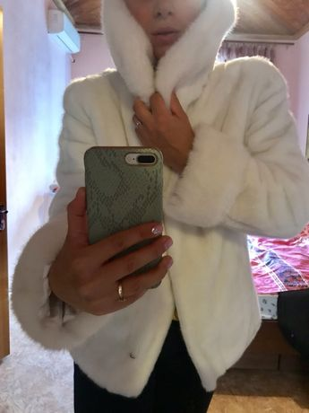 Шуба тедди дубленка искусственный мех под норку 46-48р куртка пуховик