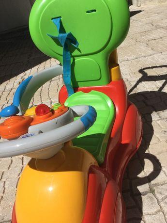 Triciclo/baloiço Chicco