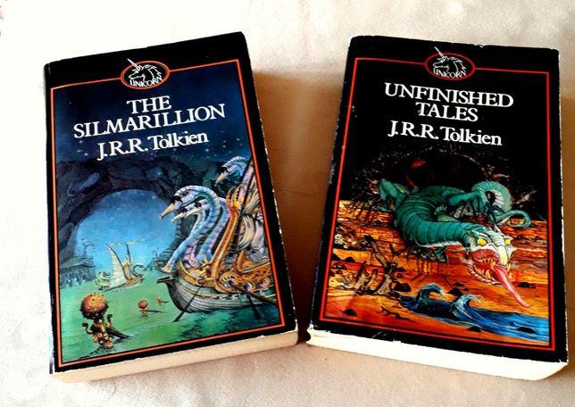 J R R Tolkien - Silmarillion e Unfinished Tales - Paperback
