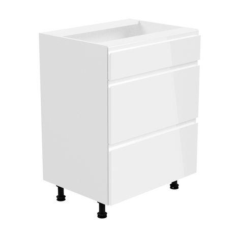 ASPEN D60S3 szafka z 3 szufladami