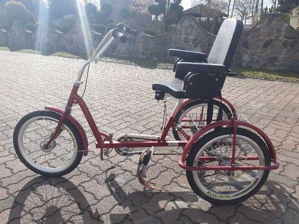 Sprzedam rower trójkołowy rehabilitacyjny