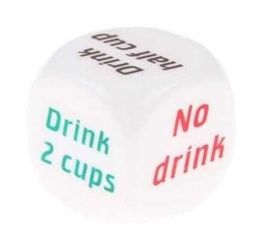Алкогольный кубик кости