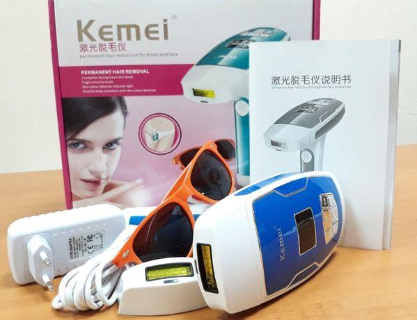 """(от сети 220). Фотоэпилятор / (лазерный эпилятор) / """"Kemei KM-6812"""""""