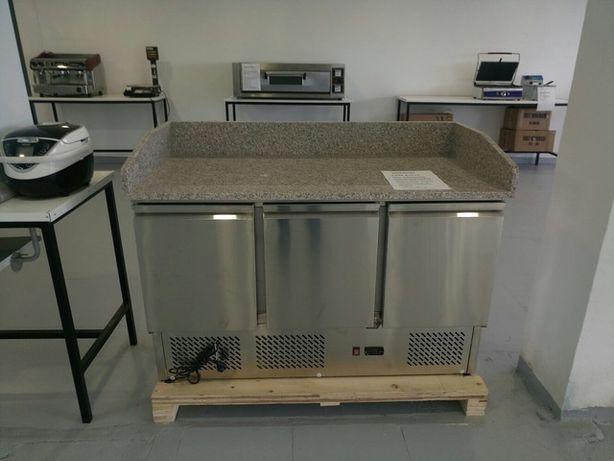Mesa de Pizzaria Refrigerada NOVA