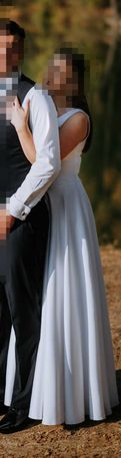 Suknia ślubna i welon